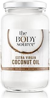 comprar comparacion Aceite de Coco Virgen Extra de 1 Litro - Crudo y Prensado en Frío - 100% Orgánico y Puro - Con Certificación orgánica