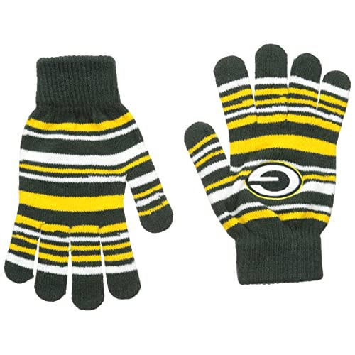 FOCO NFL Unisex Team Logo Stretch Gloves 184f86ff1