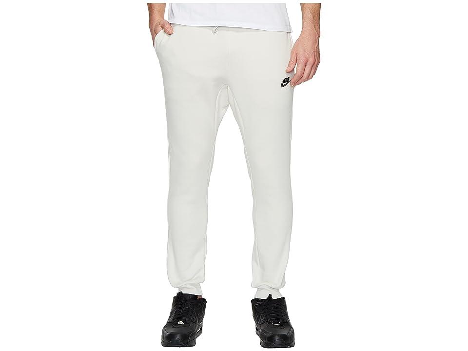 Nike Sportswear Fleece Jogger (Light Bone/Black) Men