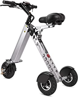 TopMate ES30 Electric Scooter Mini Tricycle | Key Switch 3 Gears | Rear Axle Longer |for Mobility Assistance and Travel