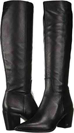 Black Nappa Verona Leather