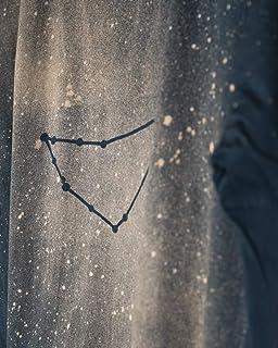 Nuova maglietta da donna fatta a mano con costellazioni zodiacali Capricorno per regali