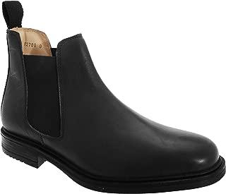 Mens Leather Quarter Lining Gusset Dealer Boots
