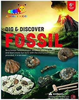 Dig and Discover Fossil Kit, Fossil Digging Kit for Kids, Early Learning STEM Toy, Fun Dig Out...
