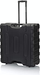 Gator Cases Pro Series Rotationally Molded 4U Rolling Rack Case with 19