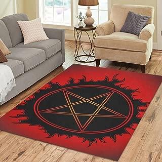 Best pentagram area rug Reviews
