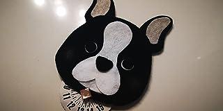 Disco orario cane Bulldog francese - idea regalo uomo donna