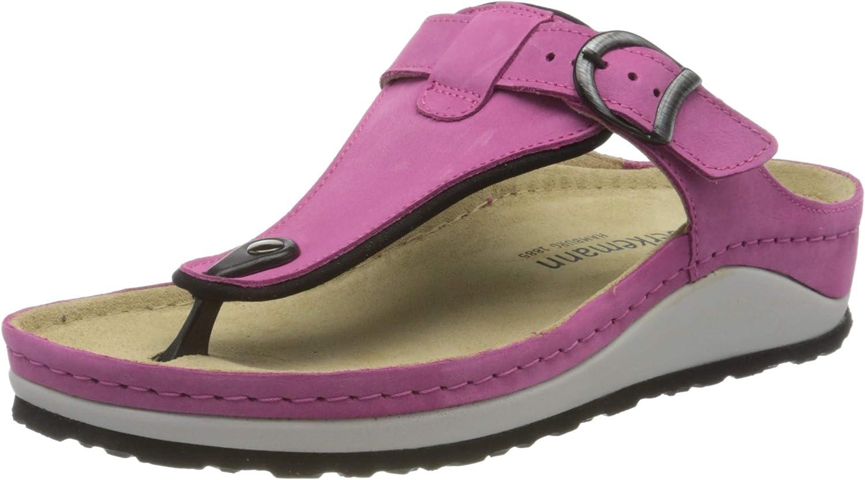 Year-end annual Las Vegas Mall account Berkemann Women's Flip Flop Nachtblau Sandals Blue 330