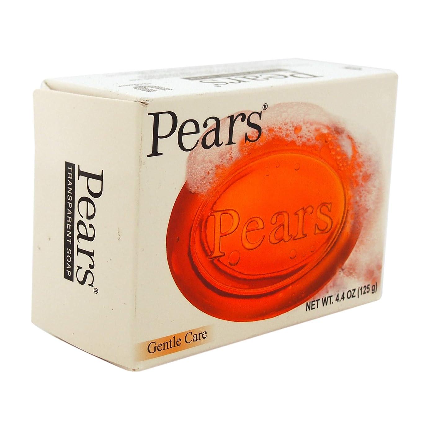ケージ青写真調子Pears ソープジェントルケア透明4.4オズ(5パック) 5パック