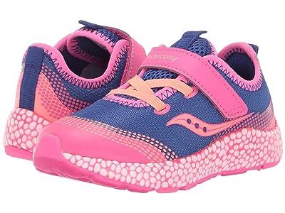 Saucony Kids S-Astrofoam Jr (Toddler) (Blue/Pink) Girls Shoes