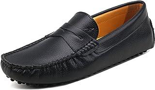 Shenduo Scarpe Uomo - Mocassini Uomo di Pelle Liscia comode Loafers Scarpe Casual D7152