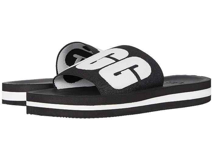 UGG  Zuma Graphic (Black) Womens Sandals
