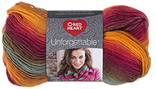 RED HEART Unforgettable Yarn, Sunrise