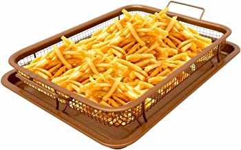 Copper Crisper Tray - AIR FRY IN YOUR OVEN NEW!