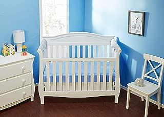 Everyday Kids Padded Baby Crib Rail Cover - Crib Rail Teething Guard - 2-PCS Side Rail Only - 27.5