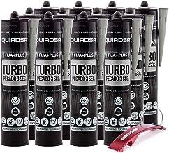 Quiadsa Fija Plus Turbo Polymeer 290 ml sleutelhanger Bricolemar als geschenk (12 x 290 ml, grijs)
