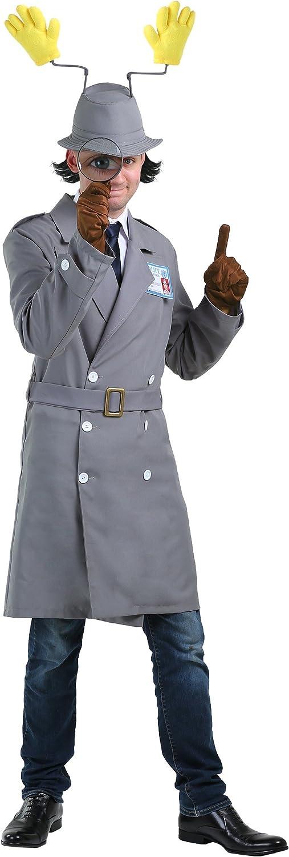 Inspector Gadget Time sale Plus Mens Costume Classic Size