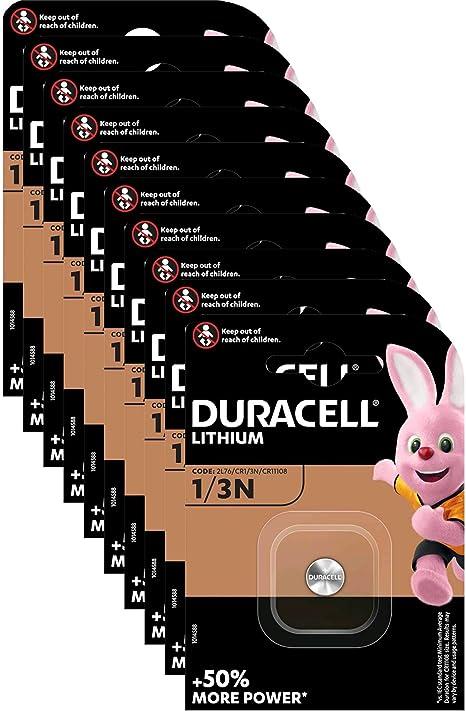 Duracell Dl1 3n 10x Lithium Batterie Dl1 3n 2l76 Elektronik