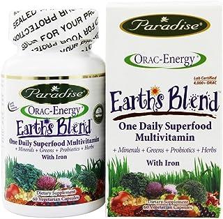 Orac-Energy,Multi,W/Iron,Dietary Supplement 60 Vegetarian Capsules