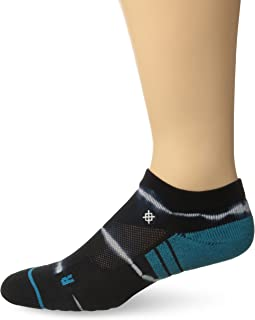 Stance Richter Low Fusion Athletic Socks, Black