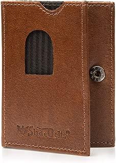 SlideBelts Top Grain Leather Tri-Fold Wallet