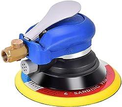 Goplus Air Palm Random Orbital Sander Dual Action Pneumatic Polisher Speed Adjustable..