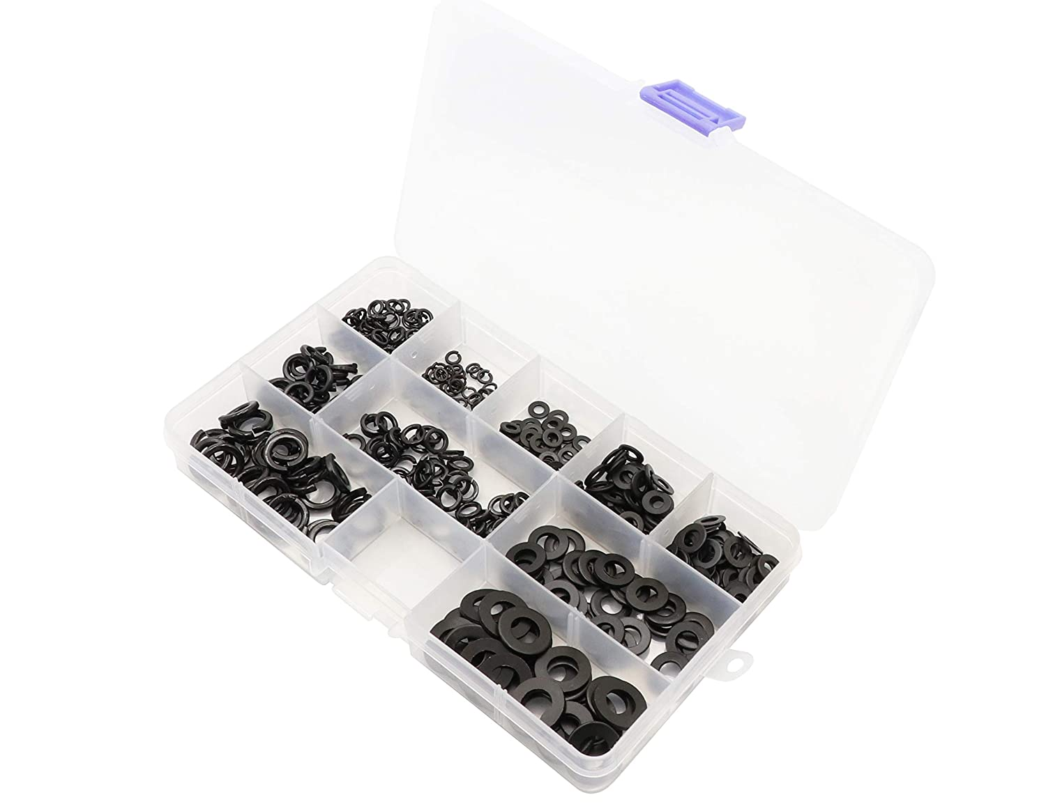 LBY 400pcs Spring Lock Washer and Flat M8 M4 Fl M5 Direct store M6 M3 Max 80% OFF