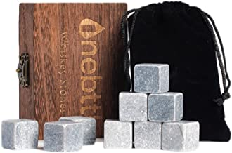 9pcs Piedra de Jabón Gris Piedras de Whisky - Onebttl