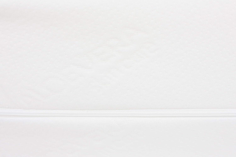 Dibapur Vulcano: colchón de Espuma fría ortopédico H3 con Funda de Aloe Vera Aprox. 25,4 cm Ideal para Camas con somier – Fabricado en Alemania (135 x ...