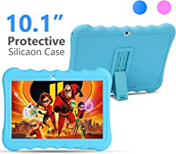 Kids Tablet PC 10 inch 3G GSM IPS 1280800 5.0M Rear and 2.0M Front Cameras Dual SIM Card Slots 1GB RAM 16GB Storage Quad-core 1.3GHZ Cortex-A7 with Shockproof Silicon Case for Kids (Blue)