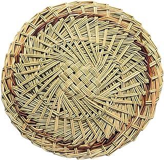 DOITOOL - Tapis de cuisson à vapeur perforé en bambou - Pour petits pains, boulettes de pâtisserie - 21 cm