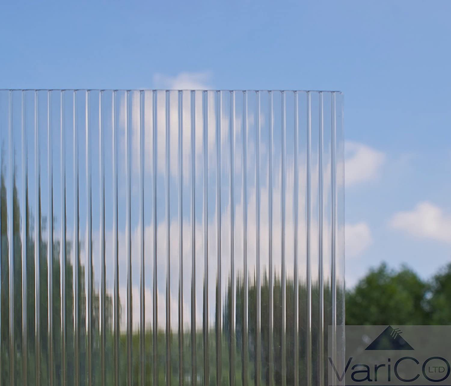 4mm Twinwall Polycarbonate For Greenhouse 610mm X 1220mm (ONLY AVAILABLE TO MAINLAND UK)