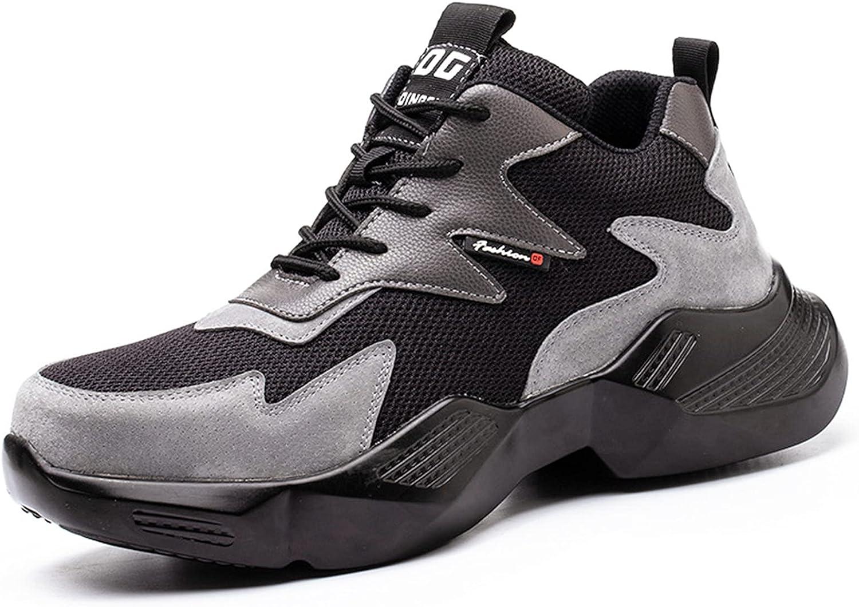 Regular store YUANB Men's Safety Shoes Fly-Woven Regular discount Anti-Smashing,Anti-Piercing