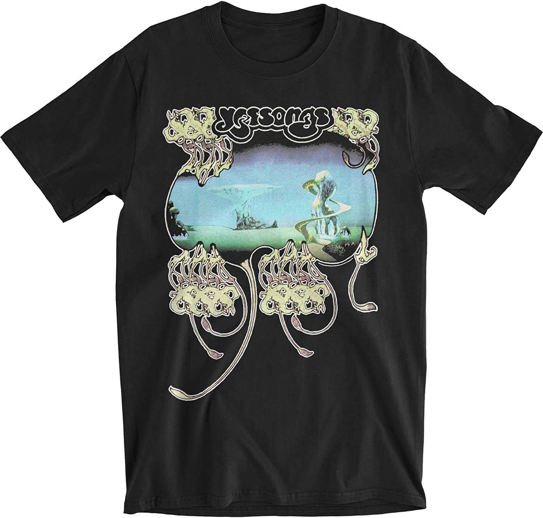 数量は多 YES Men's Yessongs Slim 特別セール品 Black Fit T-Shirt
