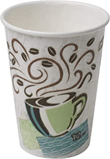 Dixie PerfecTouch 12 oz. Insulated Paper Hot Coffee Cup by GP PRO (Georgia-Pacific),..