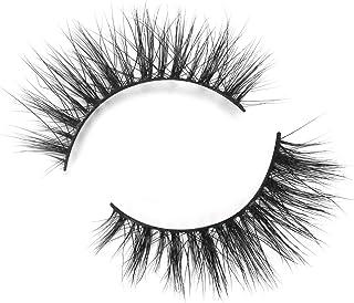 BEPHOLAN Mink Lashes| 100% Siberian Mink Fur Lashes| Natural Flare Look| Totally Cruelty-Free| Reusable &Handmade| 3D Mink Lashes| Non-Irritating Fake Eyelashes| XMZ011