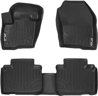 MAXLINER Floor Mats 2 Row Liner Set Black for 2015-2018 Ford Edge