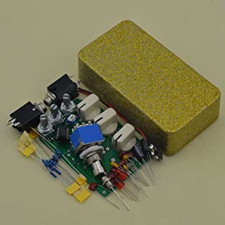 Build Your Own Distortion Guitar Pedal DS-1 Effects Stompbox Kit Shining Glod with With Full DIY Parts Incl