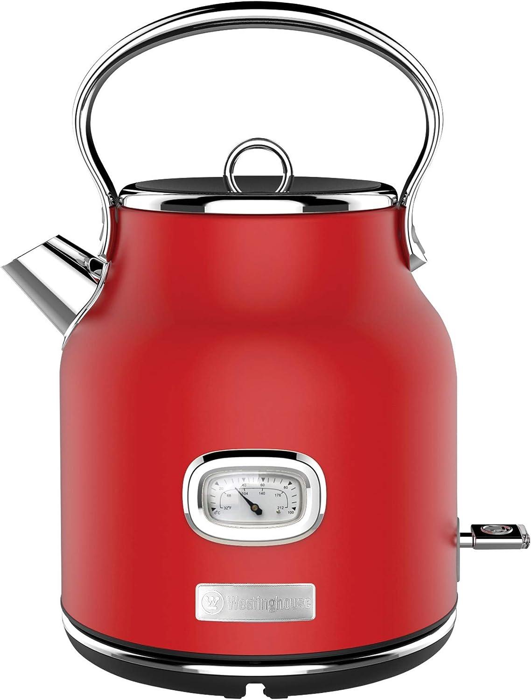 Westinghouse Retro Electric 春の新作続々 Red モデル着用 注目アイテム Kettle