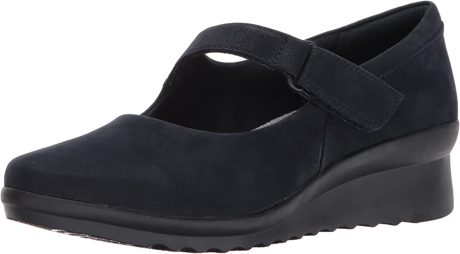 Clarks Womens Cloudstepper Caddell Yale Mary Jane Flats
