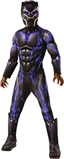 Rubie's Costume Deluxe Black Panther Child's Costume, Blue, Medium