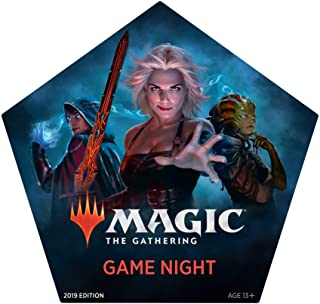 Magic: The Gathering Magic Game Night 2019 | Card Game for 2–5 Players | 5 Decks | 5 Dice | Accessories