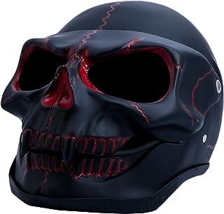 Casques Best Sport 2059845 Red Skull Casque de Roller Skate