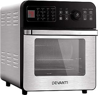 Devanti Air Fryer 18L Fryers Oil Free Oven Airfryer Kitchen Cooker Accessories