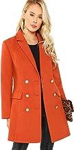 Best orange wool coat Reviews