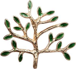 Knighthood Golden Tree التلبيب دبوس شارة معطف بدلة طوق اكسسوارات بروش للرجال