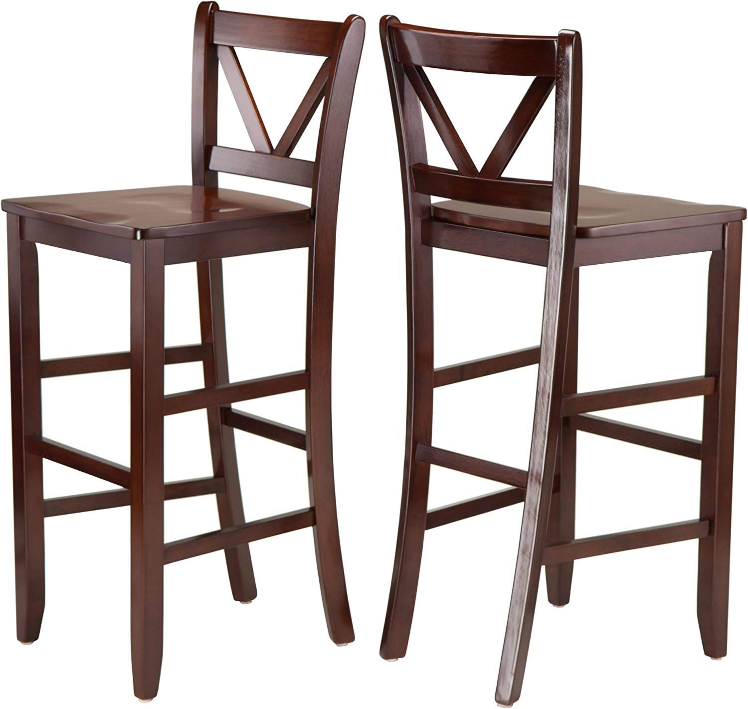 Winsome Limited price sale Victor Stools New Orleans Mall Brown 29