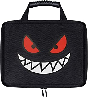 Brappo EVA Hard Travel Game Card Case for Cards Against Humanity. Holds up to 2200 Cards for Pokemon Cards Game and C. A. H. Card Games and All Other Card Games