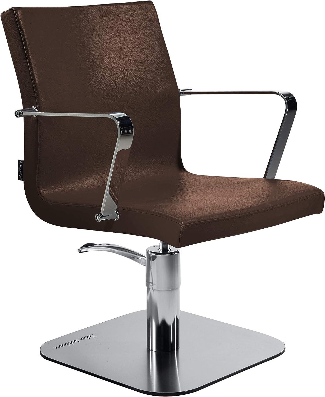 Salon Ambience Ambience Ambience - Professioneller italienischer Design- Salonstuhl - MELISSA, Vintage Tan braun  c4b374