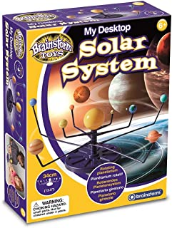 Brainstorm E2052 My Desktop Solar System,Multicolor